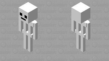 white assassin Minecraft Mob Skin