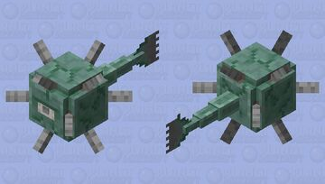 Stalactite Guardian Minecraft Mob Skin