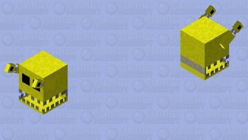 Golden Freddy Minecraft Mob Skin