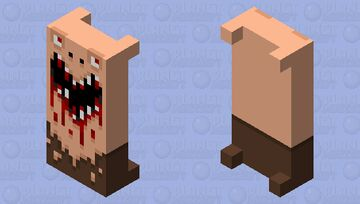 Spooky boy: Bed Edition Minecraft Mob Skin