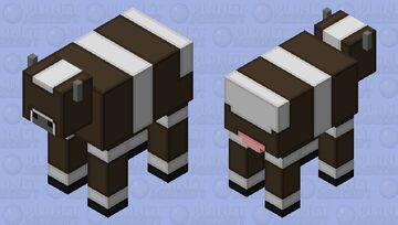 Simplistic Cow Minecraft Mob Skin