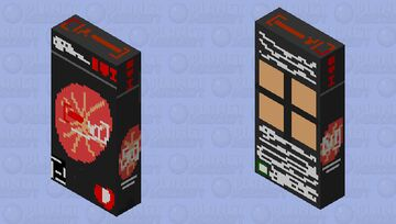 Rawhide VI Universal Beverage August 2020 Collector's Edition Minecraft Mob Skin