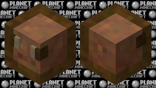 Muddy Pig Slime Minecraft Skin