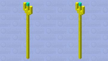 Loki's spear Minecraft Mob Skin