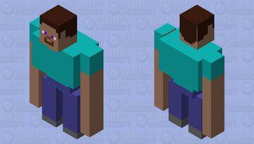 Buff steve Minecraft Mob Skin