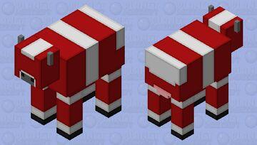 Simplistic Red Mooshroom Minecraft Mob Skin