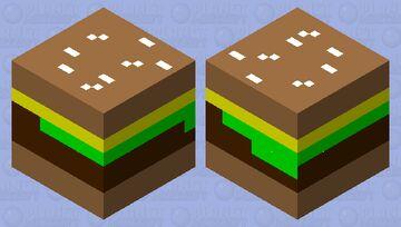 cheese burger Minecraft Mob Skin