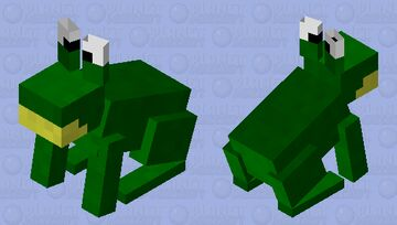 Wibbit. (Ribbit. Sorry for coping.) Minecraft Mob Skin