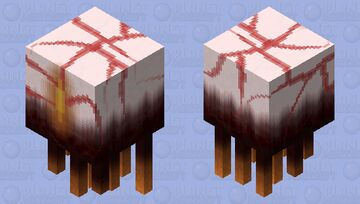 'It came from deeper within the lava.' Nether Nightmares Contest Skin Remake Minecraft Mob Skin