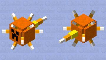Spooky scary Jak-o-gaurdian Minecraft Mob Skin