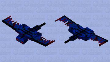 Scary Phantom Minecraft Mob Skin