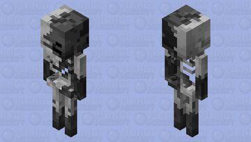Withering Skeleton Minecraft Mob Skin