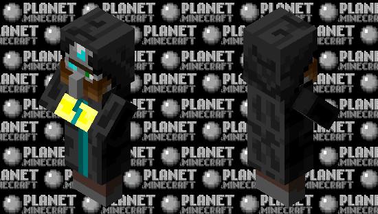 Mysterious Cosmic Villager Diamond Minecraft Skin