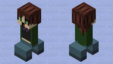 Sinus gorl but it`s a creeper Minecraft Mob Skin