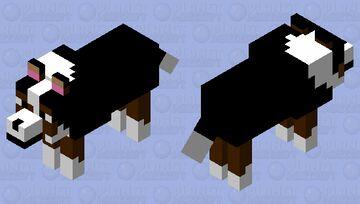 My Doggo (again, she's a girl, but I can call her what I want) Minecraft Mob Skin