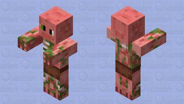 Dan the PigMan Minecraft Mob Skin