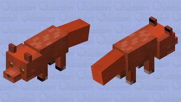 Fox Vulpix pokemon Minecraft Mob Skin