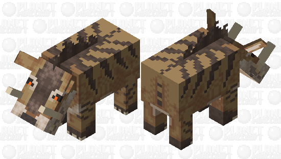 [Ice Age] Andrewsarchus Minecraft Skin