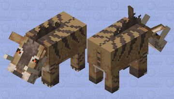 [Ice Age] Andrewsarchus Minecraft Mob Skin