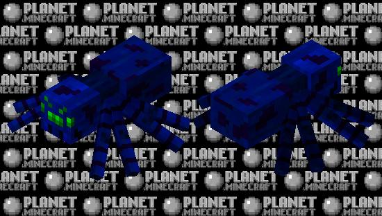 Cobalt Spider Minecraft Skin