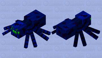 Cobalt Spider Minecraft Mob Skin