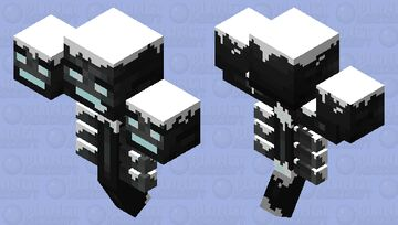 Snowy wither Minecraft Mob Skin
