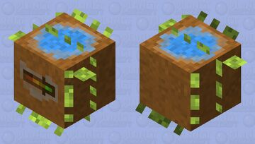 Plant Pot Minecraft Mob Skin