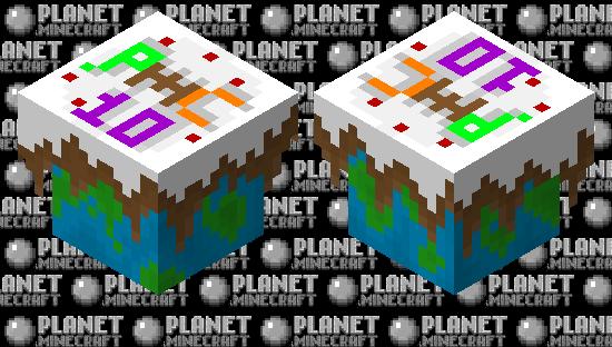 PMC 10 Year Anniversary Cake! Minecraft Skin