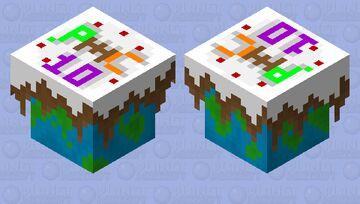 PMC 10 Year Anniversary Cake! Minecraft Mob Skin