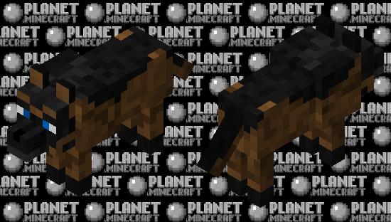 German Sheperd wolf skin Minecraft Skin