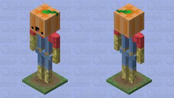 _-=: Da Derpy Skinnybone Scarecrow :=-_ Minecraft Mob Skin