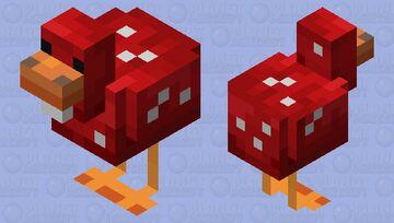 Chicken Mushroom Minecraft Mob Skin