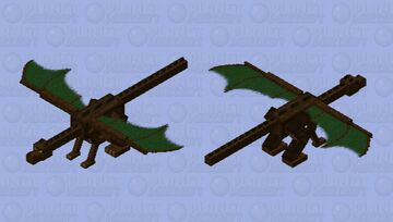 Dragon of the Deep Woods Minecraft Mob Skin