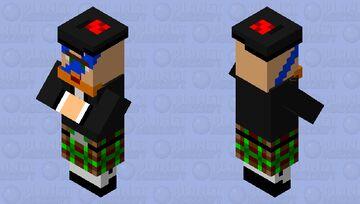 highlander Minecraft Mob Skin