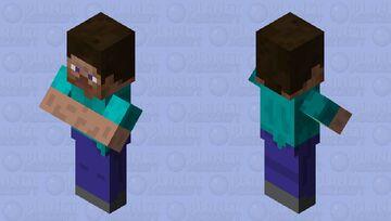 Big brain Steve Minecraft Mob Skin