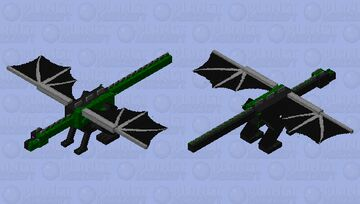 Infected Dragon Minecraft Mob Skin