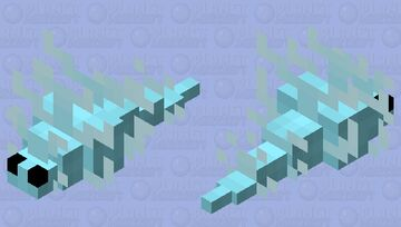 Ice Wisp Minecraft Mob Skin