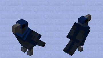 I'm beginning to 'crow' fond of you, big bird... Minecraft Mob Skin