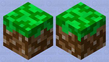 Dirt Block Slime Minecraft Mob Skin