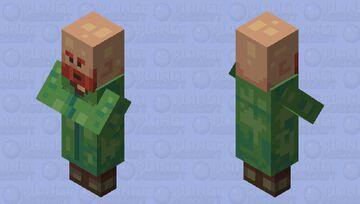 Revamped Villagers -Nitwit- Minecraft Mob Skin