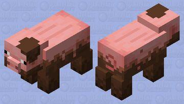 Minecraft Earth Pig Minecraft Mob Skin