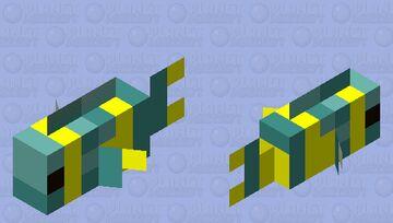 an odd fish named fred Minecraft Mob Skin