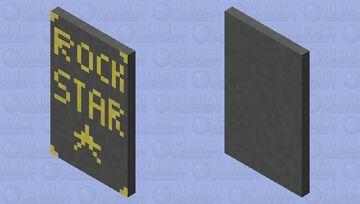 Rock Star Cape Minecraft Mob Skin