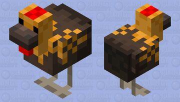 Dutch Bantam Minecraft Mob Skin