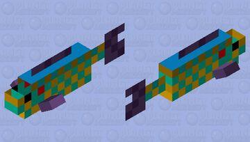 Pumpkinseed Sunfish Minecraft Mob Skin
