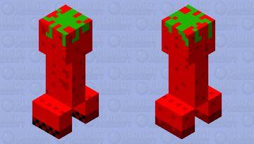 creeper tomato Minecraft Mob Skin
