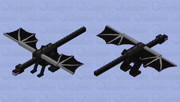 Angryier EnderDragon Minecraft Mob Skin