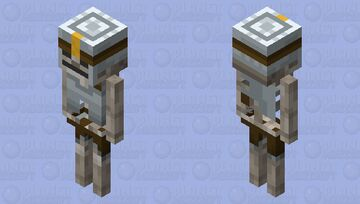 Skeleton Vanguard MCD Minecraft Mob Skin
