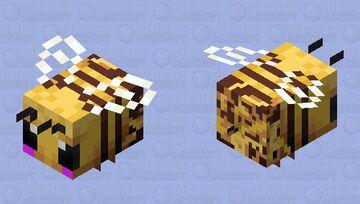 Kawaii Bee w/ Nectar Minecraft Mob Skin