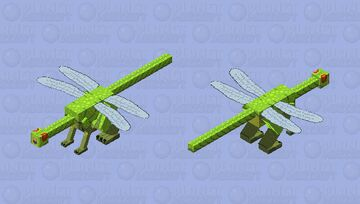 Dragon-fly Minecraft Mob Skin